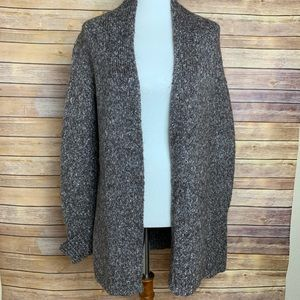 [Express] Open Front Knit Cardigan